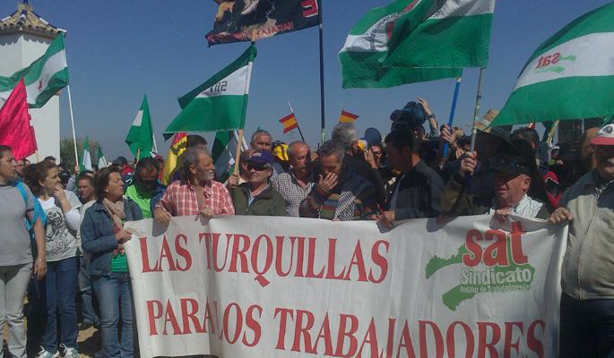 Estatu mailako mobilizazioa antolatuko du Andaluziako SATek, Gobernuaren dimisioa eskatzeko
