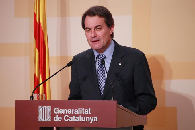 Artur Mas: �Kataluniako galdeketa 2014an izango da, baina lege esparrurik urratu gabe�