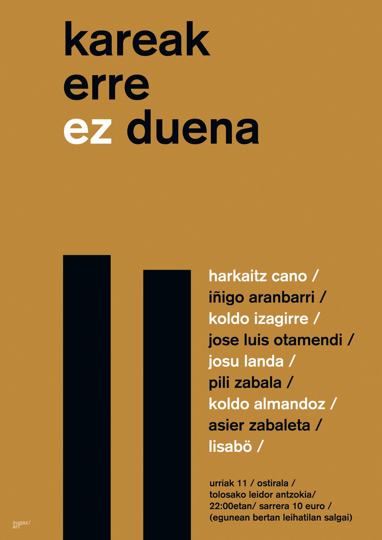 Lasa eta Zabala, poesiaren bidez oroituak Tolosan