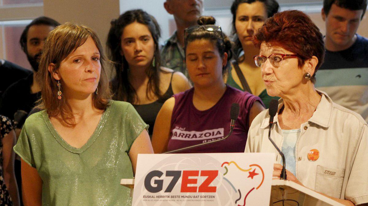 Egitaraua aurkeztu dute G7 EZ plataforma osatzen duten eragileek. (Argazkia: LAB)
