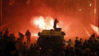 Gutxienez 51 hildako eta 268 zauritu Kairon