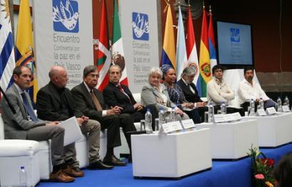 Aieteko adierazpenarekin bat egin dute Latinoamerikako 18 buruzagik