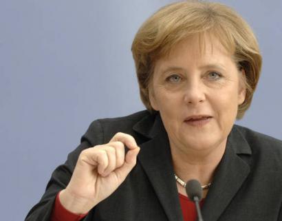 Alemaniako sozialdemokratak<br>Merkelekin bat egiteko prest