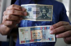 Moneta bakarra izango dute Kuban
