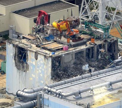 Fukushima-4ko erregai biltegia husteko lanak atzeratu egin dituzte