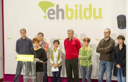 EH Bildu hainbat alderdirekin hitz egiten ari da Europako hauteskundeetara aurkezteko