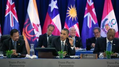 AEBek bultzatutako itun transnazionalaren arriskuez ohartarazi du WikiLeaksek