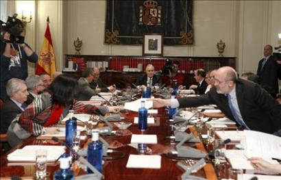 PP jaun eta jabe Espainiako Botere Judizialaren Kontseilu Nagusian