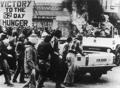 Soldadu britainiar ohiek Belfasten zibilak hil zituztela aitortu dute