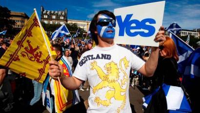 Eskozia 2016ko martxoaren 24an independente, erreferendumean baiezkoa gailenduz gero