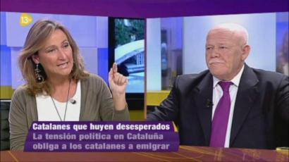 Intereconomia eta 13TV epaitegietara eramango ditu Kataluniako gobernuak