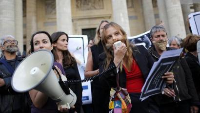 Europako feministek mobilizazioak deitu dituzte Espainiako Abortuaren Legearen kontra