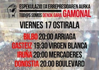 Burgosko Gamonal auzoko obrak behin-behinean gelditu dituzte mobilizazioen ondorioz