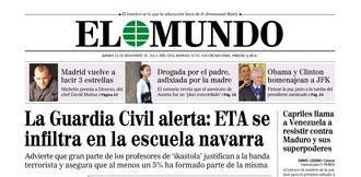 Guardia Zibilak ez du D eredua ikertu Madrilek dioenez, baina egin balu informazioa konfidentziala litzateke