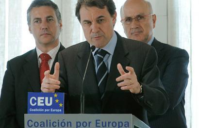EAJ eta CIU batera joango dira Europako Hauteskundeetara