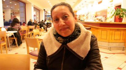 Tatiana Casta�eda bidegurutzean