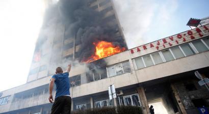 Bosnia sutan langabeziaren eta pribatizazioaren kontra