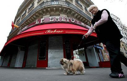 Tabako-dendek bankuen funtzioa bete dezakete Frantziako Estatuan