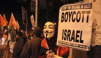 Irlandako 120 akademikok bat egin dute Israelen aurkako boikotarekin