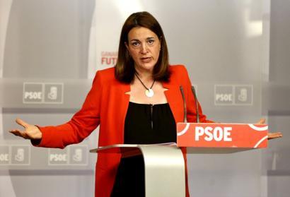 Soraya Rodriguez, PSOEko bozeramailea: �Barcinak ezin du jarraitu bere postuan�