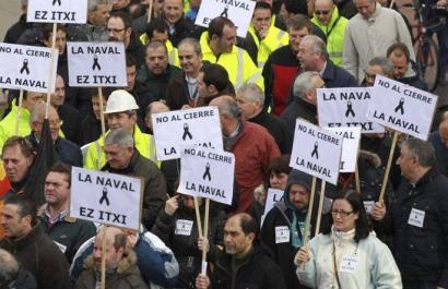 La Navaleko langileek mobilizazioekin jarraituko dute lan karga eskatzeko
