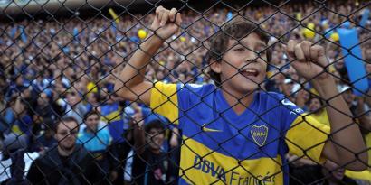 Futbola, aberria eta publizitatea Argentinan