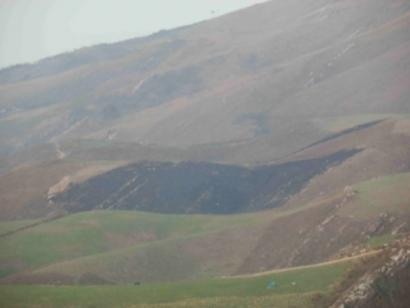 Eguzkik salaketa jarri du Guardia Zibilak Jaizkibelen sortu zuen sutearen harira
