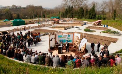 Donostiako Baratze Parkean, nekazaritza ekologikoan aritzeko 160 lursail