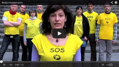 Kataluniako herri mugimendua elkar harturik prekarizazioaren aurka