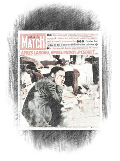 Paris Match, 1976: Su�rez, Falangea eta euskara