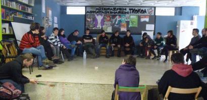 Gazte Anarkistak erakundea sortu dute Nafarroan