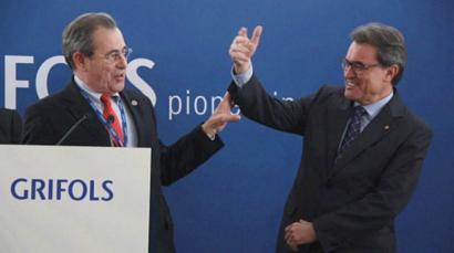 Espainiar estatuko farmazeutika handieneko presidentea Kataluniako independentziaren alde