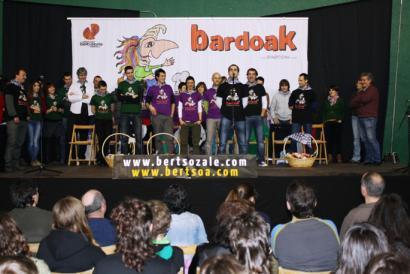 Bardoak ekimenaren bigarren edizioan txapelak Baztanera