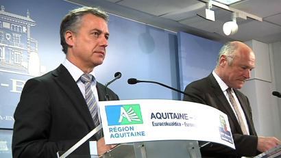 Euskadi-Akitania euro-eskualdeko presidente izendatu dute Urkullu