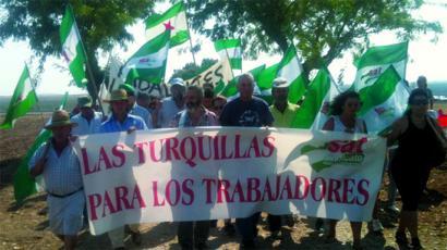SAT sindikatu andaluziarrak