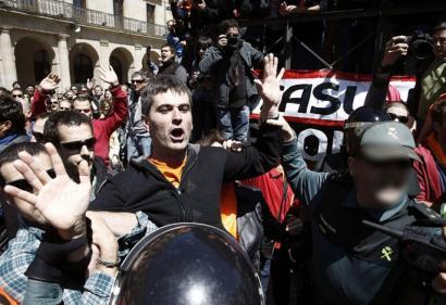 Fernando Sota atxilotu du Guardia Zibilak Tafallan herritarren elkartasun artean