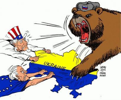 Inperioen gerra Ukrainan hasten da