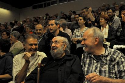 Alfonso Sastre eta Eva Forest omendu zituzten astelehenean Hondarribian