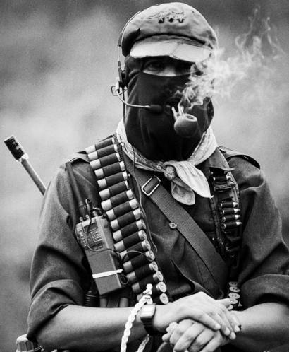 Marcos komandante-ordeak zapatisten bozeramaile izateari utzi dio