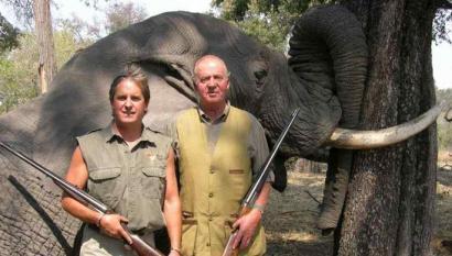 Juan Carlos Borboikoa: Francok aupatu zuen elefantea