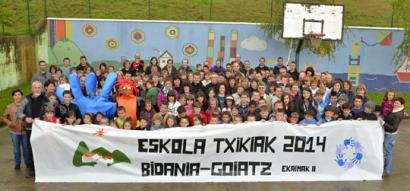 Eskola Txikien Festa ospatuko dute Bidania-Goiatzen igandean