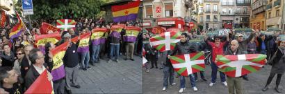Monarkiaren kontra eta herriek erabakitzearen alde manifestazioa Iru�ean