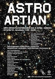 'Astro Artian', musika esperimentalak Gernikako Astra hartuko du