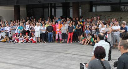 Gaixo dagoen Ibon Fernandez Iradi presoa libre uzteko eskatu dute Lasarte-Orian