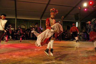 Hegoaldeko dantza talde batek lehen aldiz maskarada plazaratuko du Zuberoan