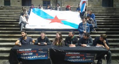 Galiziako gazte erakundeek independentziaren aldeko manifestazio bateratua deitu dute