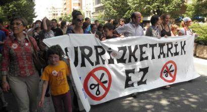Murrizketek 3.500 lanpostu publiko baino gehiago suntsitu dituzte bi urtean Hego Euskal Herrian