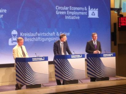 Europak birziklatze helburuak aldatu eta ekonomia zirkularra hobetsi du