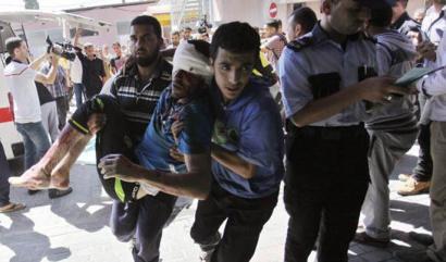 Ahmad Yacoub, Gazatik: �Infernu hutsa izan da bart gaua�