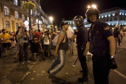 �Protesta oro jazarri eta zigortzea da lege honen helburua�